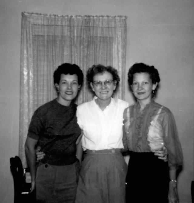 Aunt Frankie, Grandma Grayson, Mother