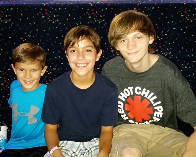 Garrett, Collin & Jacob