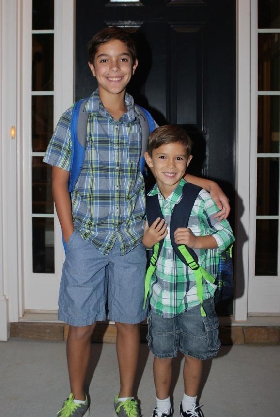 Collin and Garrett