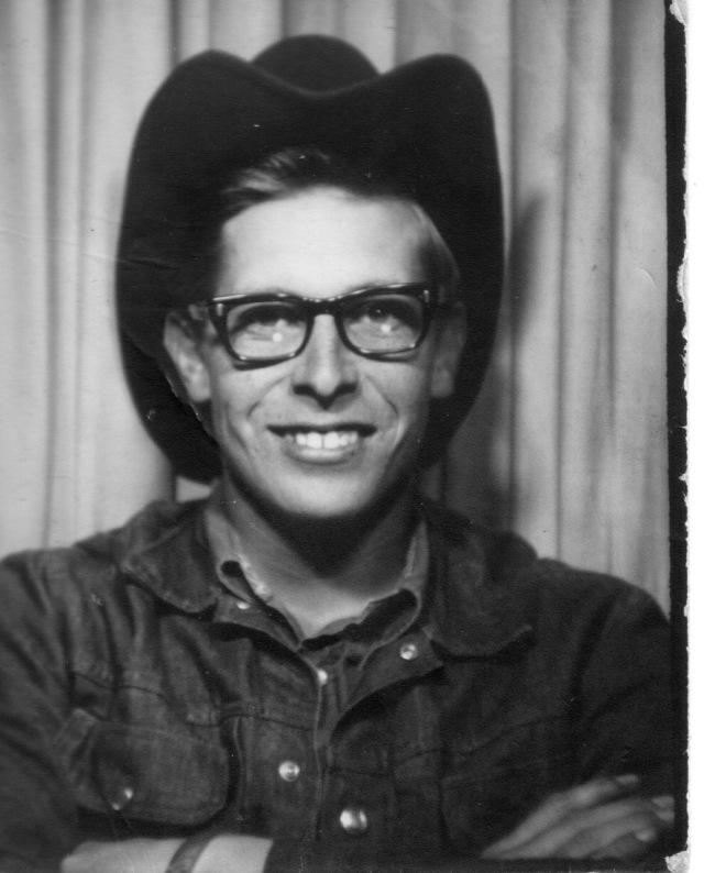 Ron in cowboy hat