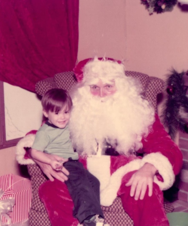 Chris with Santa (1)